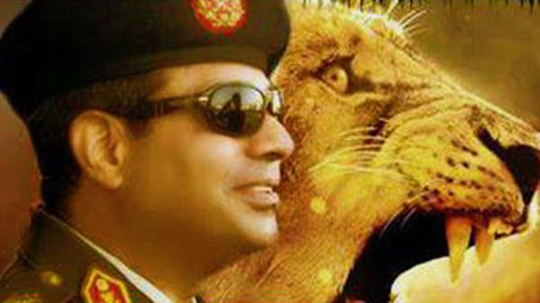 General Sisi, fondly known as the Lion of Egypt now
