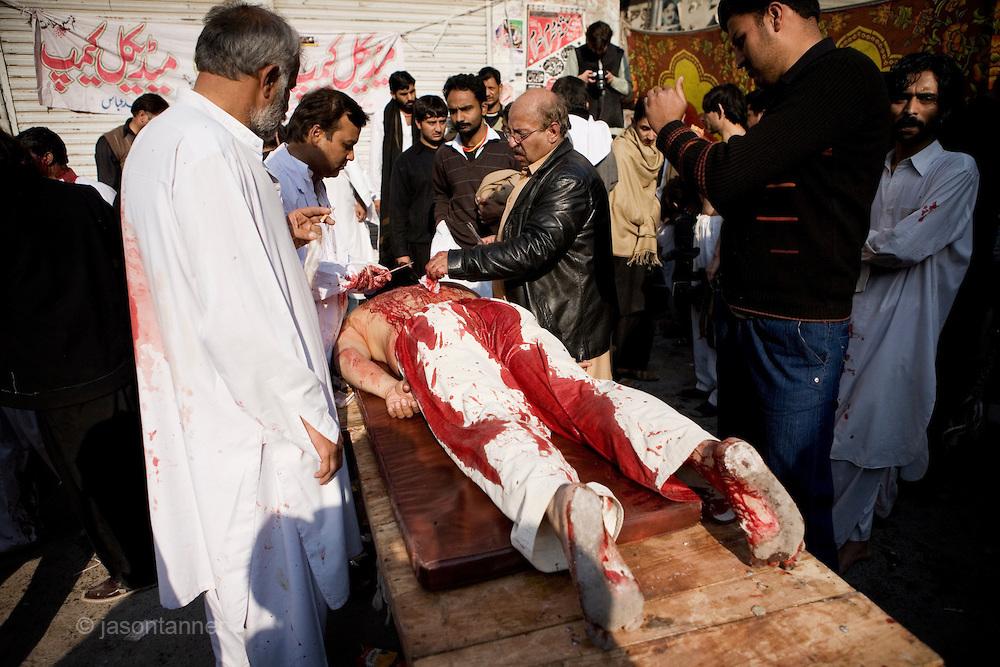 Ashura Festival 27th December 2009 in islamabad, Rawalpindi, Pakistan.