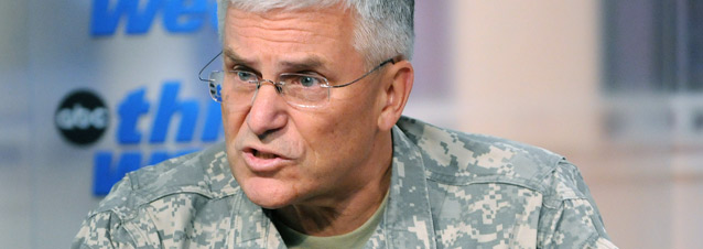 """Army Gen. George Casey repeated a mantra as he made the rounds of the Sunday News shows after the jihadist massacre; """"If our diversity becomes a casualty (of the Fort Hood massacre) then that's worse."""""""
