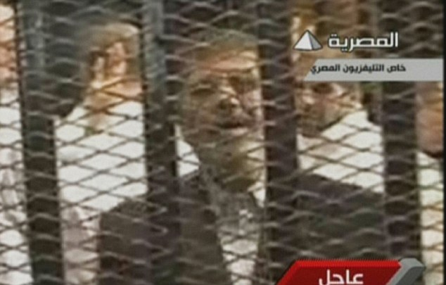 An image grab taken from Egyptian state