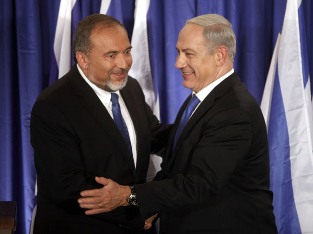 WOO HOO! Israel's right wing firebrand, Avigdor Lieberman ...