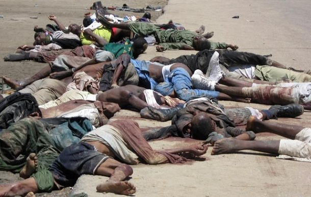 Christians murdered by Boko Haram