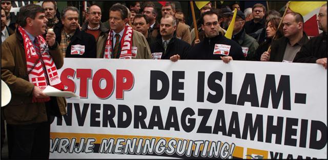 BELGIUM Vlaams Belang party, Filip Dewinter