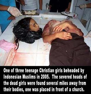 jihad christian girl beheaded by indonesian muslims in 2005