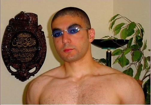 Ahmed Rehab, fond of wearing makeup when he isn't trashing Jews