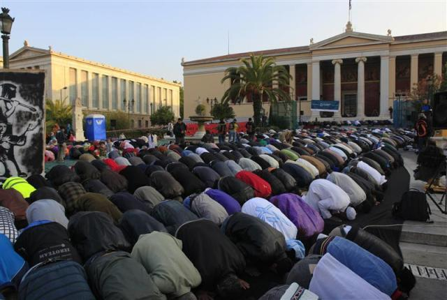 islam around greece
