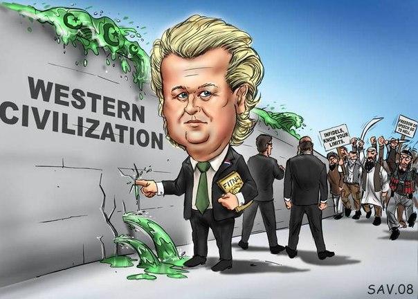 DUTCH Freedom Party. Geert Wilders