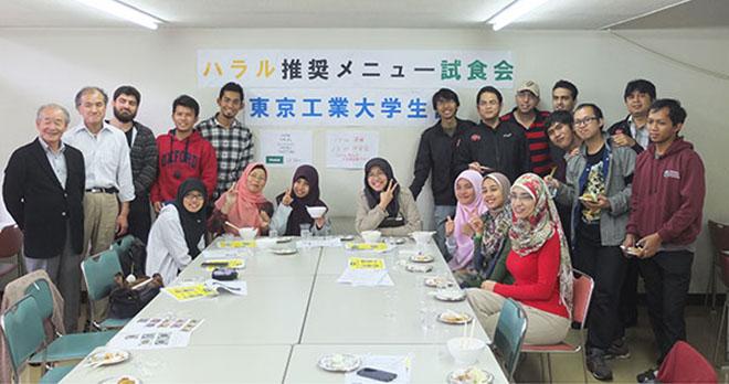 Ookayama-Campus-halal-testing-event1-e1383669415615