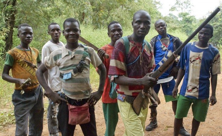 Fighters from a Christian militia known as the anti-balaka have emerged to defend towns and in some cases attack Muslim communities.
