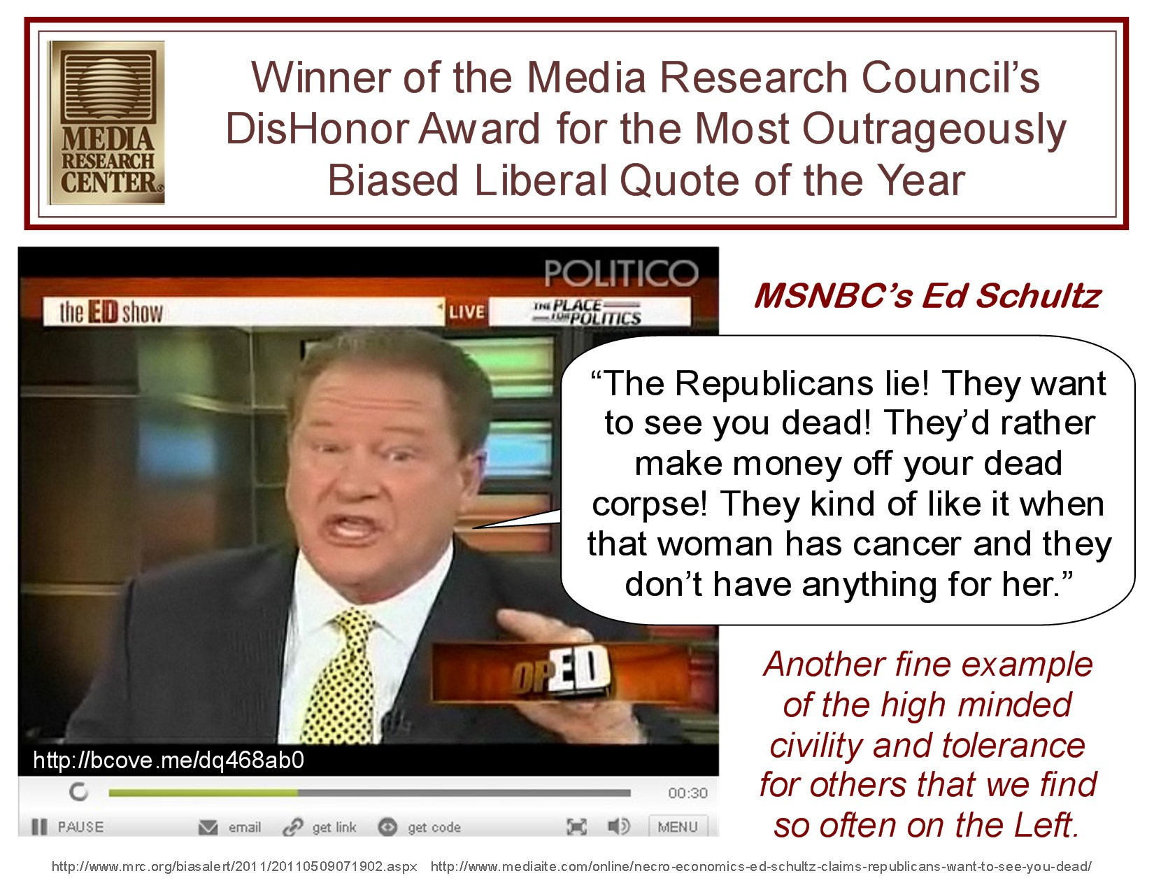 msnbcs-ed-schultz-wins-dishonor-of-the-year-award