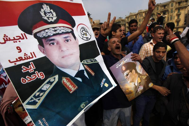Egyptians come out in support of General Sisi