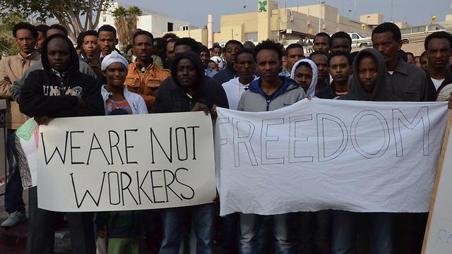 """We're not workers, we want to live on Israeli welfare"""