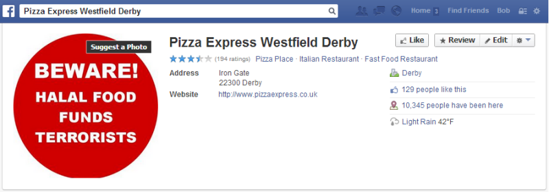 Derby-Pizza-Express-Facebook-page-sabotaged-e1391059870418