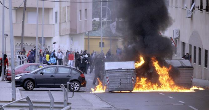 Disturbios-barrio-Melilla