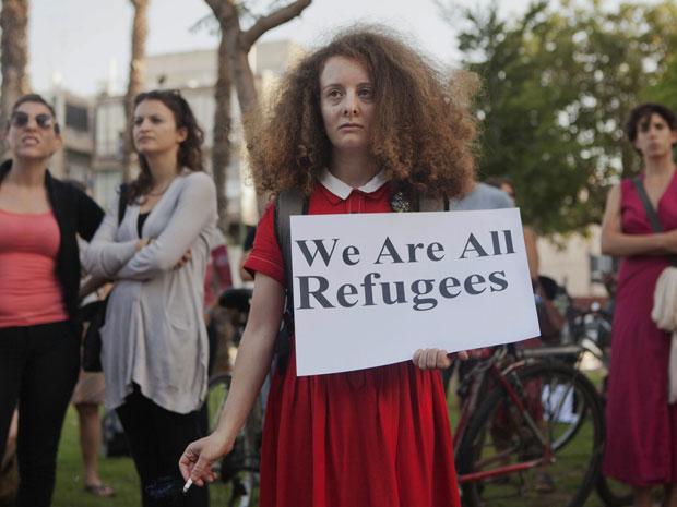 IsraelWeAreAllRefugees