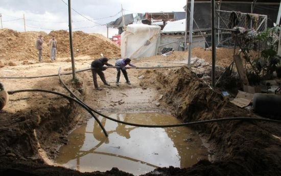 Egypt has flooded/destroyed most of the Gaza smuggling tunnels
