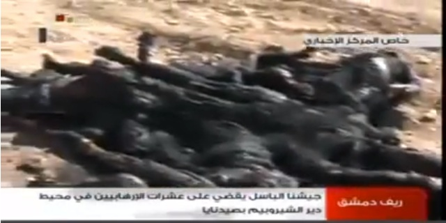 More scorched Jihadists