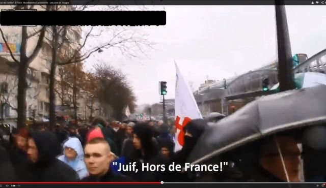 """""""Jews out of France"""""""