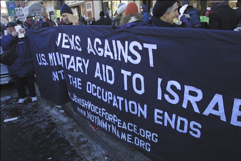 Among these 58 angry Jews was the virulently anti-Israel Jewish Voice for Peace