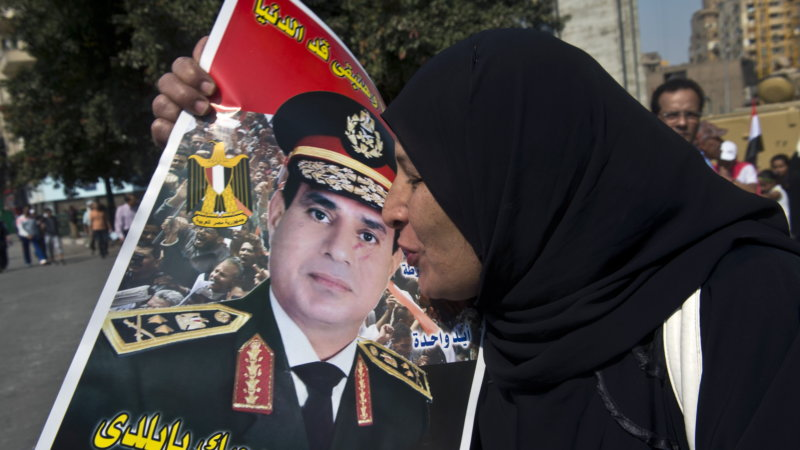 Most Egyptians, both Muslim and Christians love General Sisi