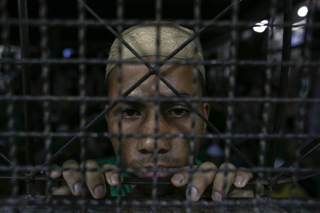 Rohingya-in-detention
