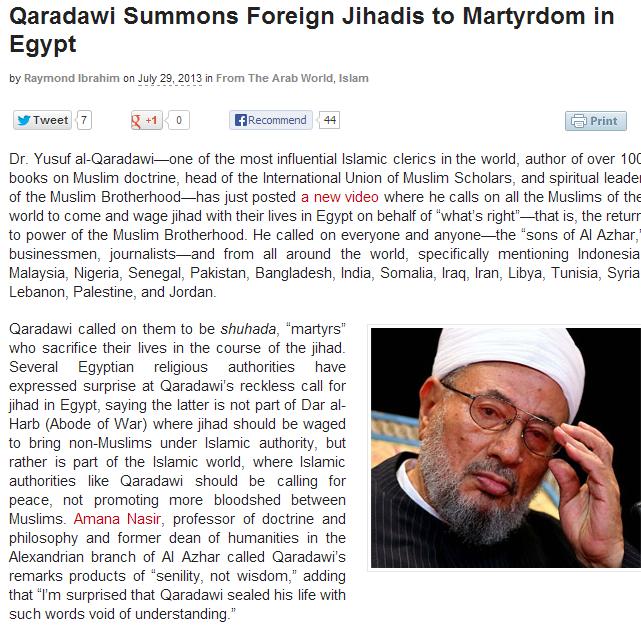 al-qaradawi-calls-for-jihad-in-egypt-30.7.2013