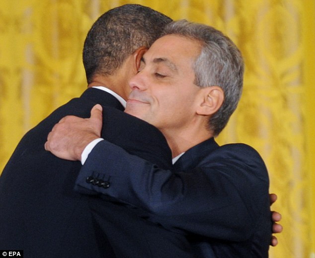Rahm and BFF Barry