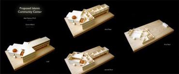 Mosque renderings