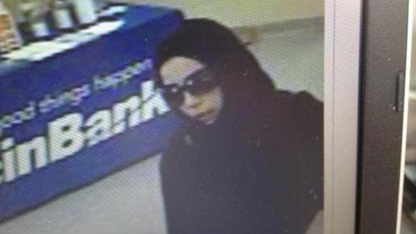 A 23-year-old Minnesota Saudi MUSLIM woman held  up five banks in three weeks, hiding her face under a hijab