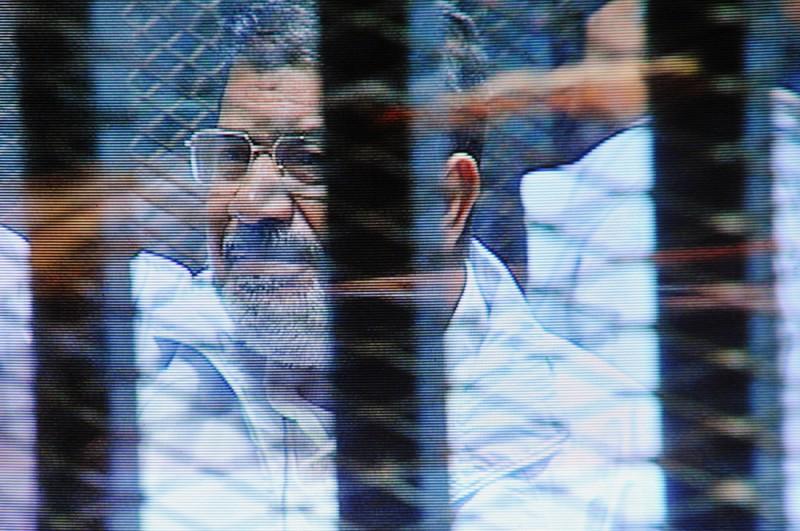 Ousted president Mohamed Morsi still on trial