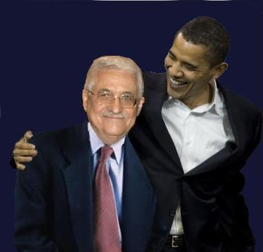 Image result for obama smiles at Abbas