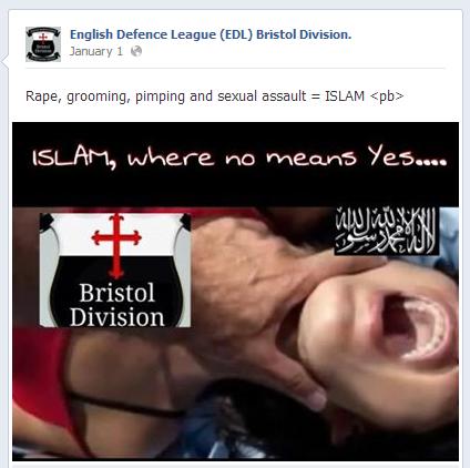 EDL-Bristol-anti-Islam-post