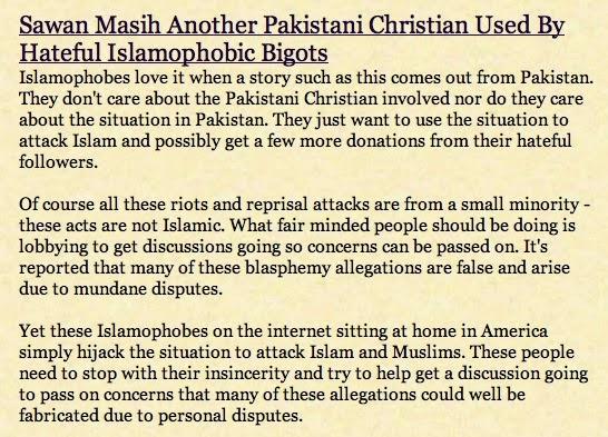Yahya and Blasphemy Laws