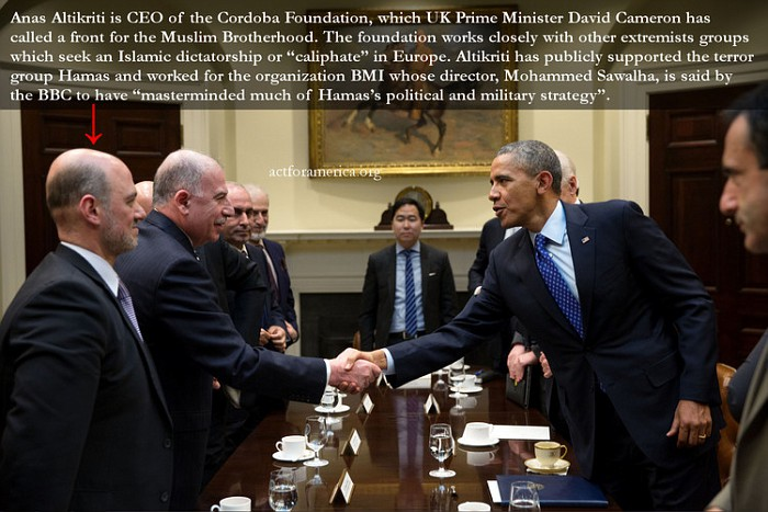 Muslim Brotherhood members not only freely visit the White House, they serve in many position in the Obama Regime