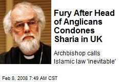 fury-after-head-of-anglicans-condones-sharia-in-uk