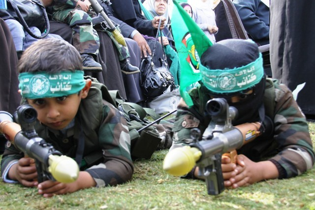 HAMAS Junior terrorists-in-training