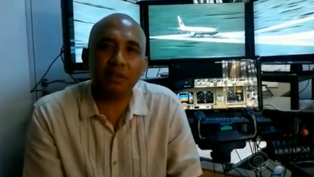 The pilot's at home flight simulator