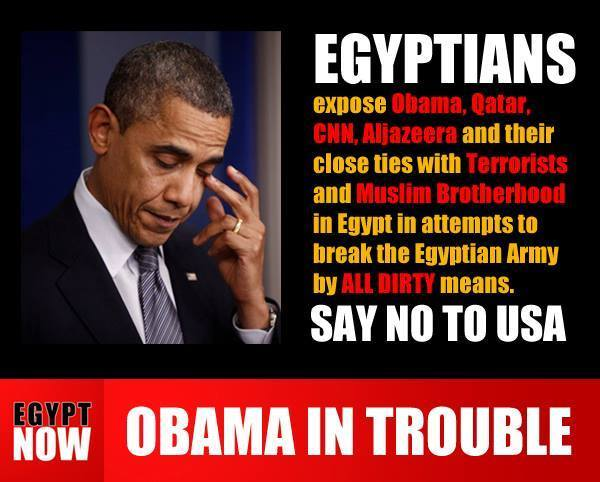 EGYPT UPDATE on the move by Obama, Turkey, and Qatar to overthrow the Egyptian government and reinstate the Muslim Brotherhood