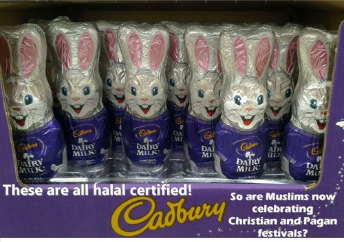 Converting little Muslim kids with Halal bunnies