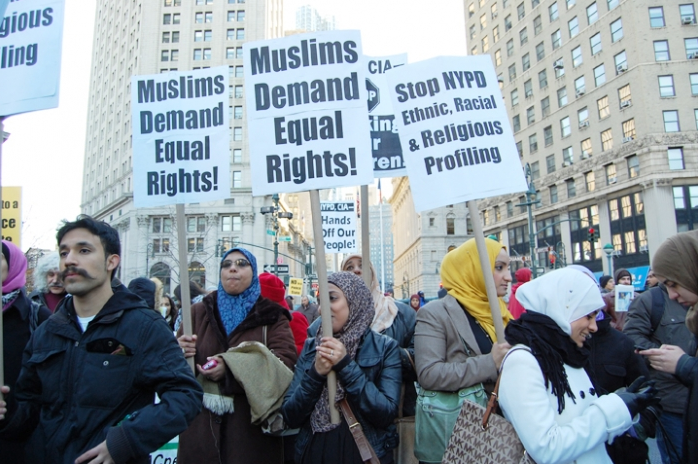 Muslims-protest-NYPD-spying-2