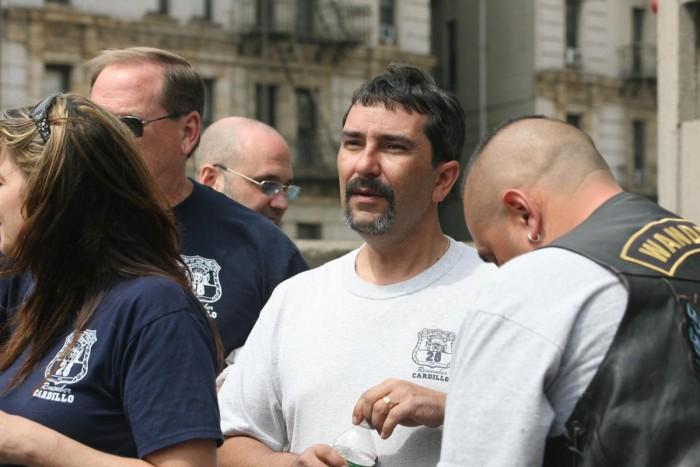 Cardillo's son, Todd Joseph Cardillo during memorial