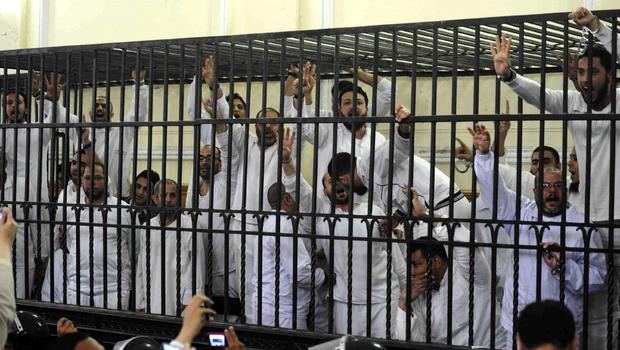 Some of the Muslim Brotherhood thugs/terrorists sentenced to death