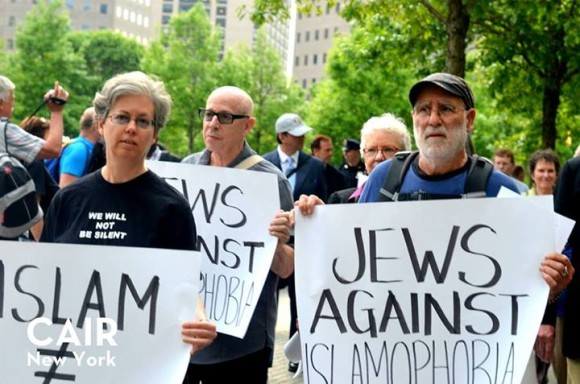 Jews Against Islamophobia, photo at CAIR's Facebook page