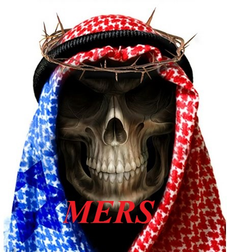 Notice the blue Star of David, they are already blaming the Zionists for MERS