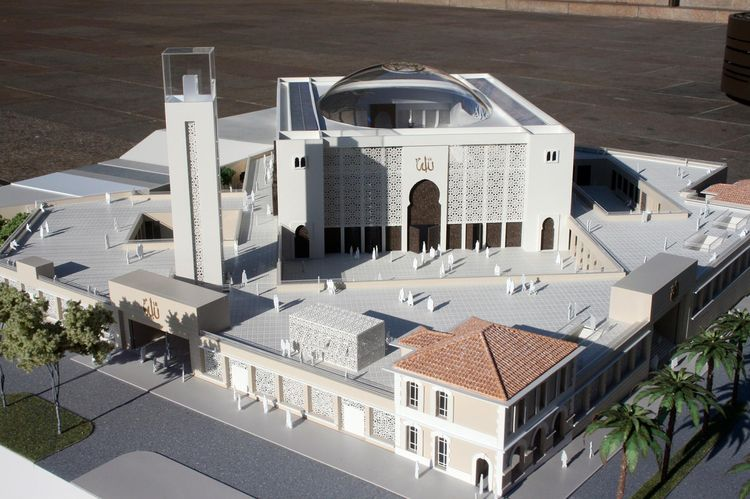 Model for another Grande Mosque in Marseille, epicenter of Muslim crime in France