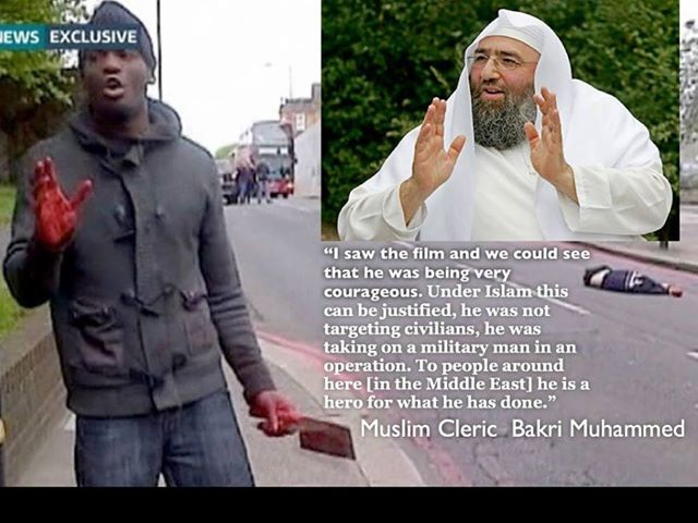 Some Muslim leaders consider Rigby's murderer a hero