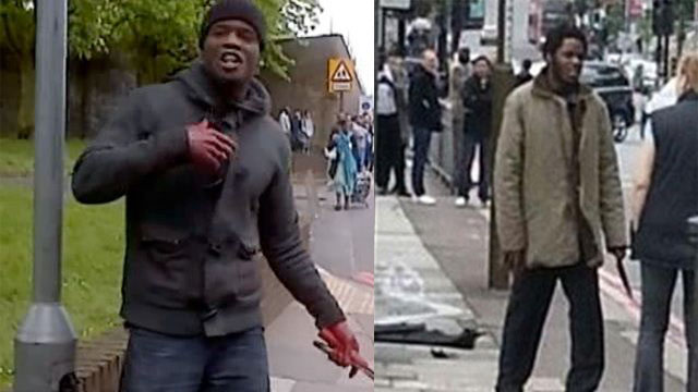 The two Muslim jihadists who killed Rigby