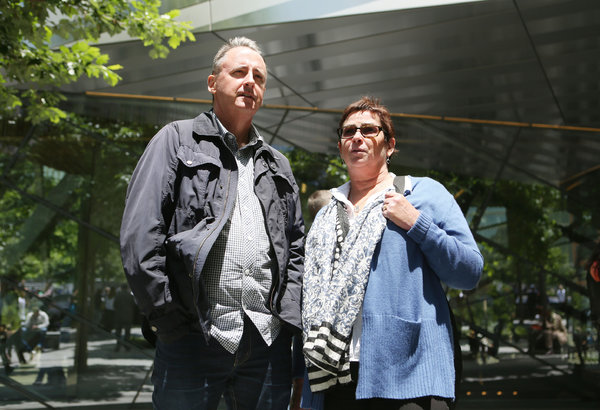 """David and Cathy Kelly, from Sydney, Australia. """"I think a little bit more could have been made about that, that there were Islamic people killed who were Americans. They also said the rest of the museum could have done more to fill out the picture of Islam and were among several visitors who worried Muslims would not feel welcome."""