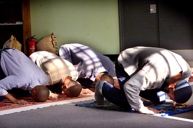 Muslims expect private areas where they can pray during work hours