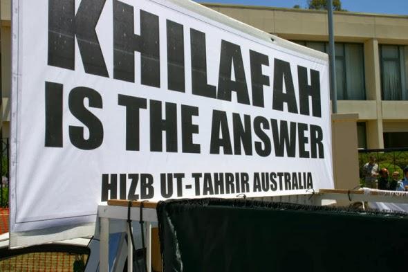 Hizb ut-Tahrir advocates for a worldwide Islamic caliphate (Khilafah)